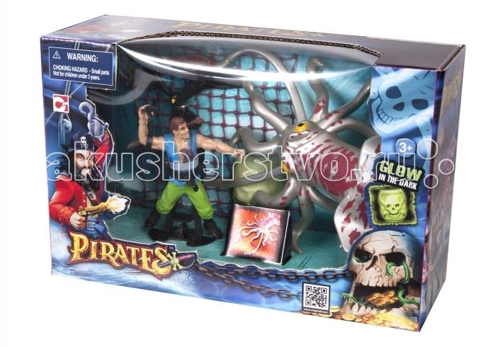 Игровые наборы Chap Mei Игровой набор Пираты - Ловушка на Кракена игровые наборы tomy игровой набор приключения трактора джонни и лошади на ферме