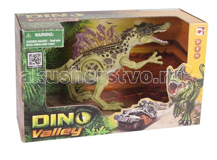 игрушки интерактивные chap mei игрушки интерактивные Электронные игрушки Chap Mei Электронная подвижная фигурка Dino Valley - Спинозавр