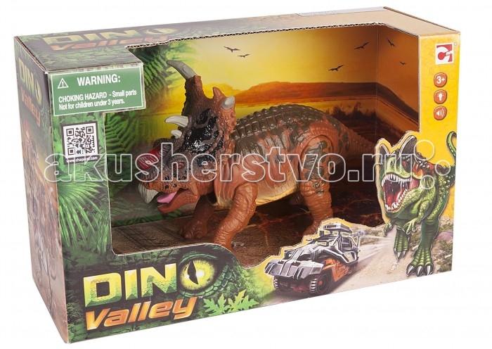 игрушки интерактивные chap mei игрушки интерактивные Электронные игрушки Chap Mei Электронная подвижная фигурка Dino Valley - Пахиринозавр