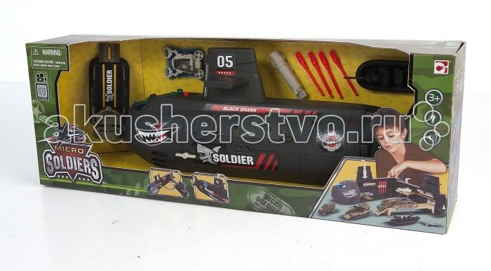 Игровые наборы Chap Mei Игровой набор Soldiers - Подводная лодка с наполнением игровые наборы tomy игровой набор приключения трактора джонни и лошади на ферме