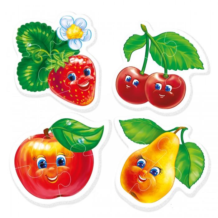 Пазлы Vladi toys Мягкие пазлы для малышей Фрукты мягкие пазлы магниты фрукты isbn 978 966 936 692 4