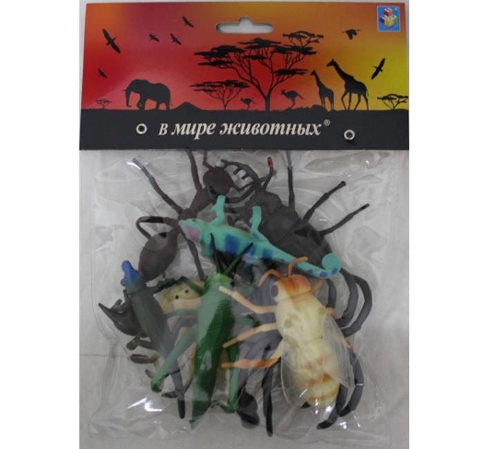 Игровые фигурки 1 Toy В мире животных насекомые 8 шт.