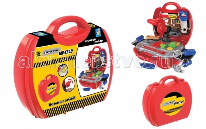 Ролевые игры 1 Toy Игровой набор в чемоданчике Профи Мастер 19 предметов 网页动画制作(flash cs6)