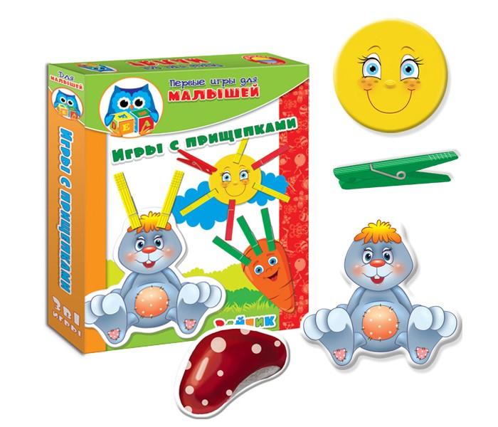 Развивающие игрушки Vladi toys НИ Прищепочки Зайка развивающие игрушки tolo toys пещерный мальчик