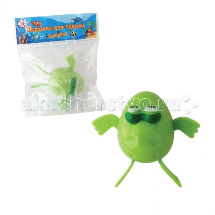 Игрушки для ванны Тилибом Заводная игрушка для ванной Лягушка 7 см игрушка для кошек трикси мышка заводная 7 см