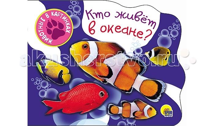 Книжки-картонки Проф-Пресс Книжка-картонка Вырубки А5. Кто живет в океане феникс обучающая книжка кто живет в море