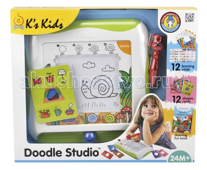 Развитие и школа , Доски и мольберты KS Kids с обучающими карточками арт: 19424 -  Доски и мольберты