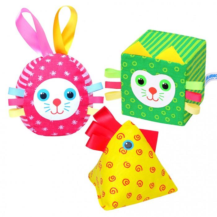 Развивающие игрушки Мякиши Весёлая дидактика мякиши 265 игрушка погремушка пирамидка зайка