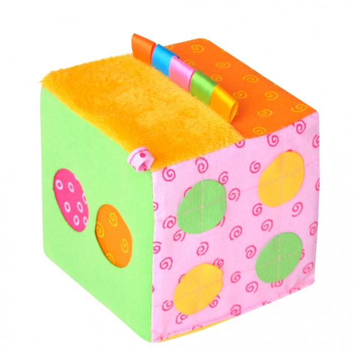 Развивающие игрушки Мякиши Математический кубик книги издательство робинс книжный конструктор развивающий кубик
