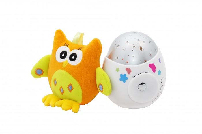 Ночники ROXY Игрушка-проектор звездного неба COLIBRI с совой игрушка проектор roxy kids звездного неба olly с совой
