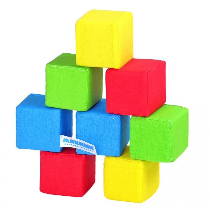 Развивающие игрушки Мякиши Кубики 4 цвета кубики мди