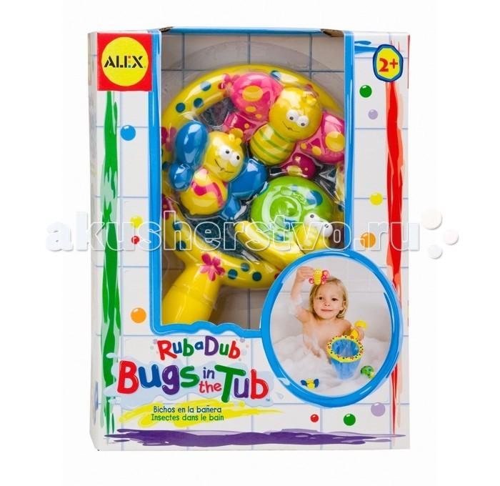 Игрушки для ванны Alex Игра для ванной Поймай бабочку игровой набор для девочки alex чайный сервиз поймай бабочку