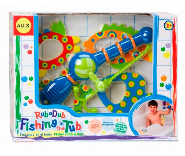 Игрушки для ванны Alex Набор для ванной Поймай рыбку, Игрушки для ванны - артикул:19459