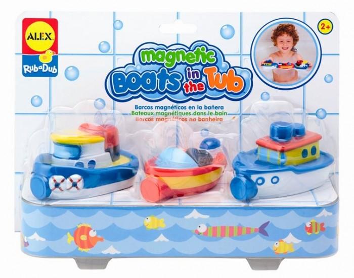 Игрушки для ванны Alex Игрушки для ванной Магнитные лодки