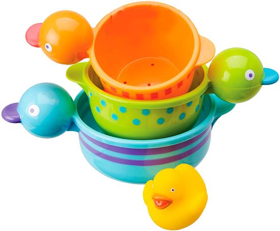 Купание малыша , Игрушки для ванны Alex Игрушка для купания Чашечки-утята арт: 19467 -  Игрушки для ванны