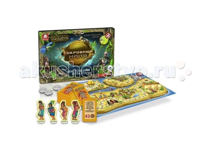 Настольные игры S+S Toys Настольная игра Сокровища майя