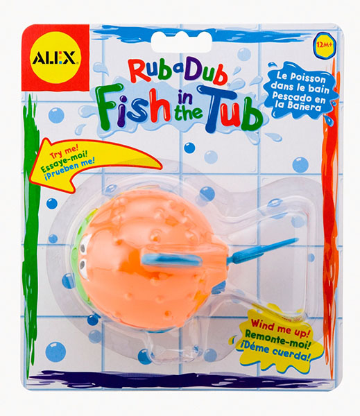 Игрушки для ванны Alex Игрушка для ванной Рыба-ёж игрушки для ванной alex набор игровой для ванны вымой щенка