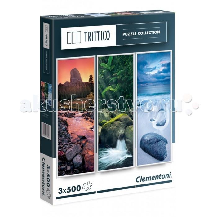 Пазлы Clementoni Пазл Trittico - Живая вода (3х500 деталей)