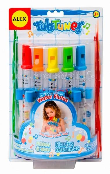 Купание малыша , Игрушки для ванны Alex Игрушка для ванной Водяные флейты арт: 19473 -  Игрушки для ванны