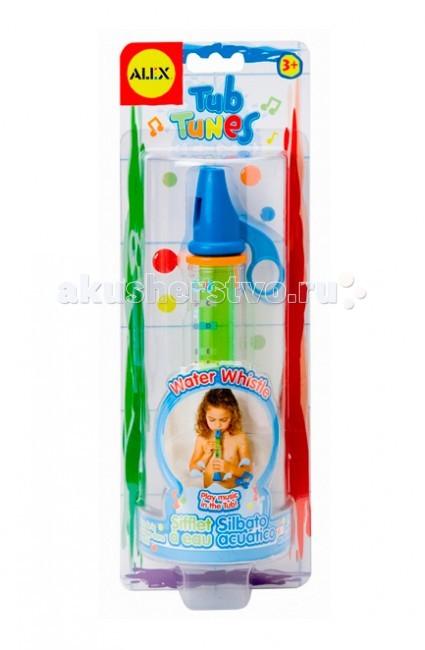 Игрушки для ванны Alex Игрушка для ванной Водяная дудочка музыкальные игрушки стеллар дудочка