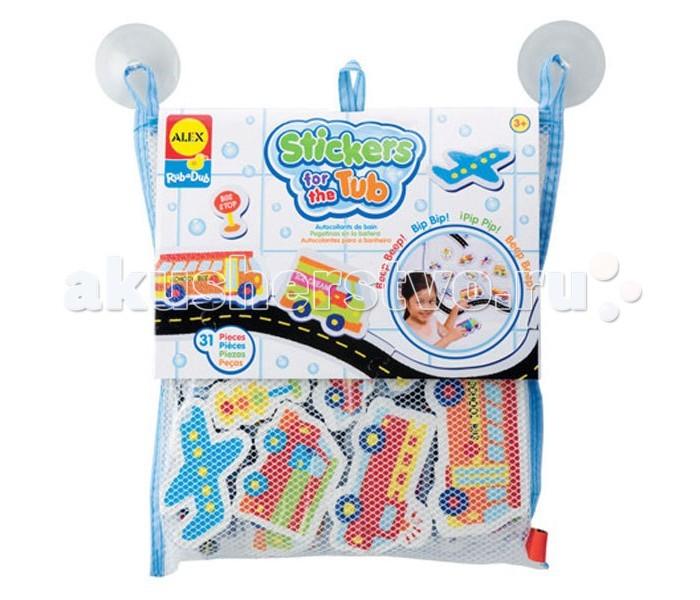 Игрушки для ванны Alex Игрушка для ванной Набор Транспорт alex alex игрушка для ванной постирай белье