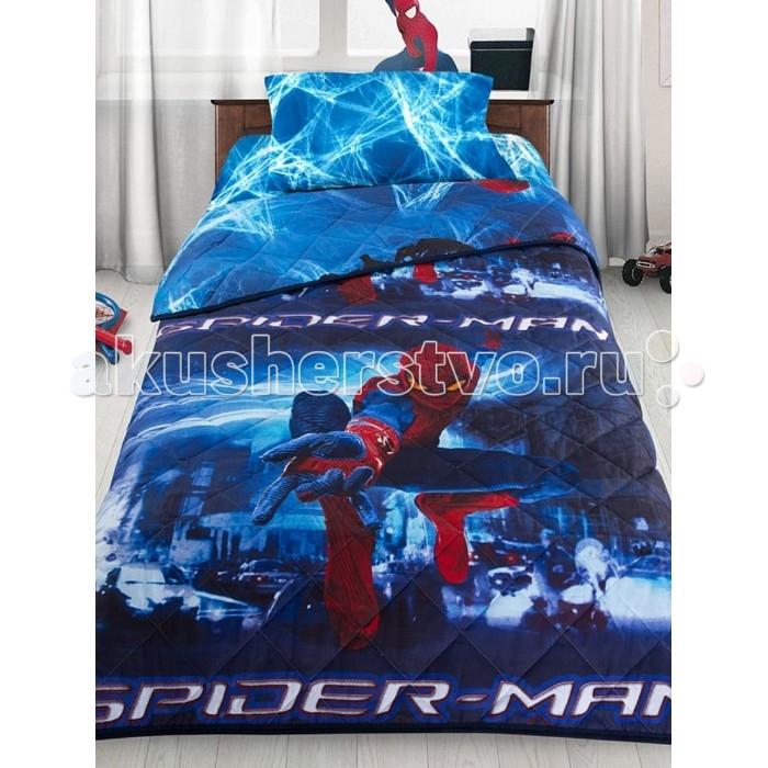 Купить Постельное белье 1.5-спальное, Постельное белье Letto Человек-паук