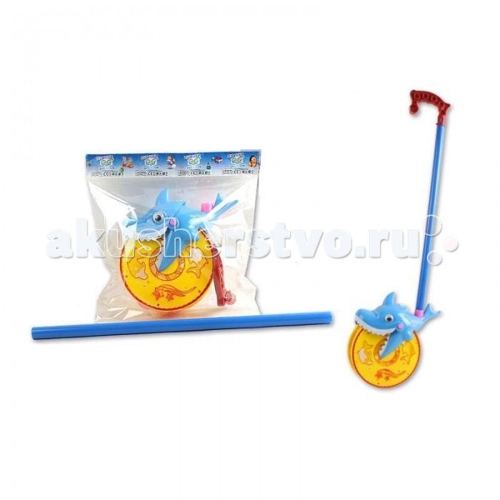 Каталки-игрушки S+S Toys Веселая акула 28 см