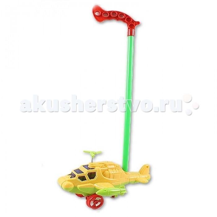 каталки игрушки plan toys каталка танцующий крокодил Каталки-игрушки S+S Toys Вертолет 23х16х13 см