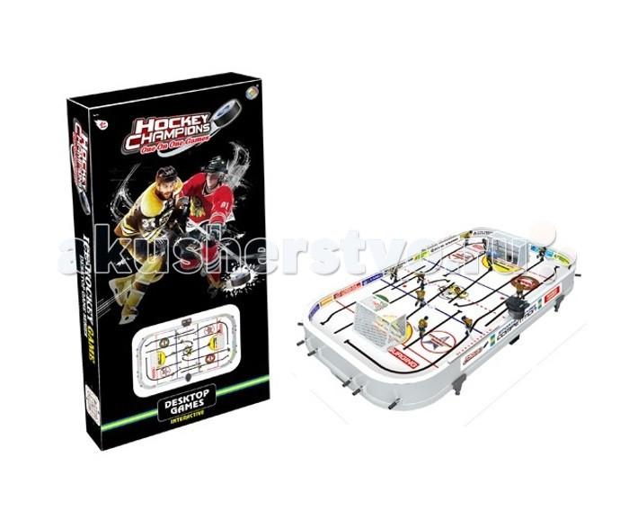 Настольные игры S+S Toys Игра Настольный хоккей 12 рычагов 59х35х8 см сайлентблоки передних рычагов пассат б3