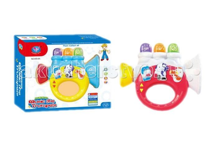 Музыкальные игрушки Tinbo Toys Труба TB01005599 tinbo toys ходунки каталка лев 2 в 1