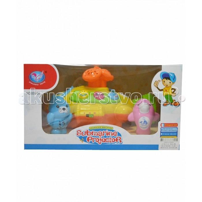Музыкальные игрушки Tinbo Toys Подводная лодка с проектором игрушки для ванной plan toys подводная лодка