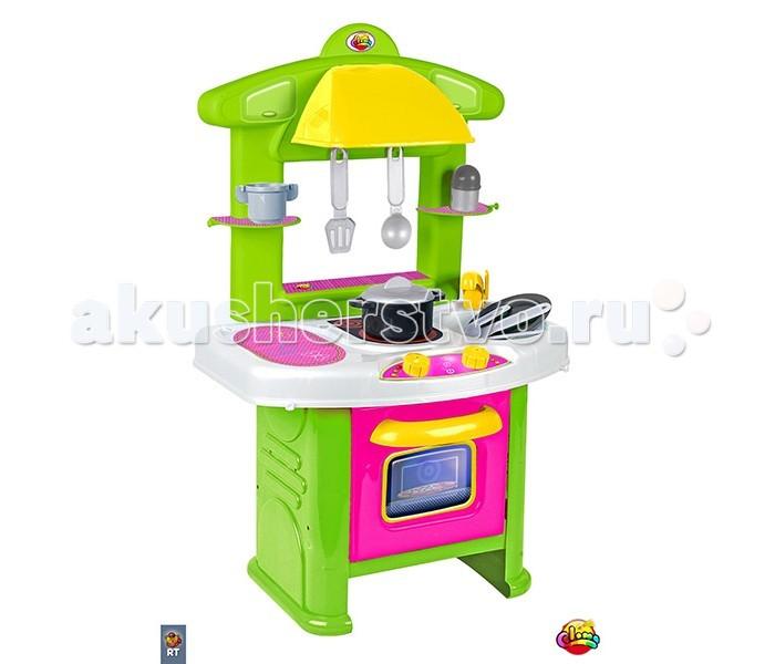 Coloma Кухонный модуль 90544Кухонный модуль 90544Кухонный модуль Coloma Каждый день дети наблюдают как мама хлопочет на кухне и готовит обед.  RT предоставляет замечательную возможность готовить всей семьей.  Мама-на своей кухне, а дети- на своей. Кухни от Coloma-замечательная игра,которая может перерасти в нечто большее- в любовь к кулинарии, в помощь взрослым.Эта кухня создана для самых юных хозяек.  Очень яркая и жизнерадостная кухня для небольшой квартиры. Все продумано до мелочей-от крана до современной стильной вытяжки.  Полки,духовка,плита,раковина с краном-все легко можно использовать. Любой маме захочется прикоснуться к этой кухне, потому что в комплекте: сковорода,чашки,столовые приборы и многое другое.  Но на этой кухне хозяева- маленькие дети. Рекомендуется для детей от 3 лет.  Испанский пластик. Сделано в Испании-идеальное качество для детей. В комплекте-11 кухонных аксессуаров.<br>