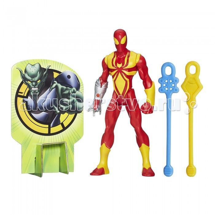 Игровые фигурки Avengers Фигурка Марвел Железный Человек-паук hasbro боевая штаб квартира человека паука