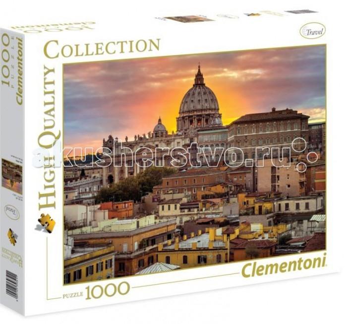 Пазлы Clementoni Пазл High Quality Collection - Вечерний Рим (1000 элементов)