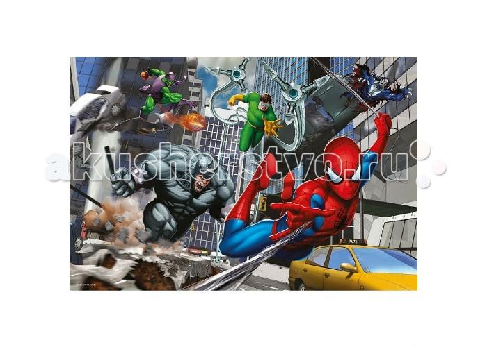 Пазлы Trefl Пазл Человек-паук Нападение 100 элементов пазлы trefl контурный пазл монстр хай 350 деталей