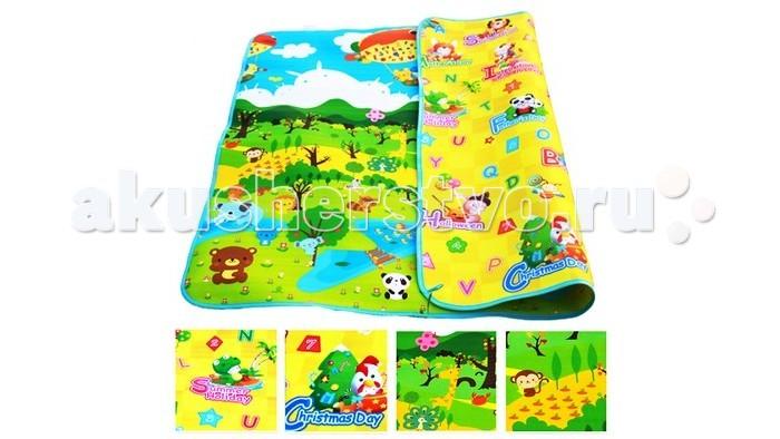 Игровые коврики Mambobaby Лесной парк и Тигрёнок на празднике игровые коврики mambobaby город