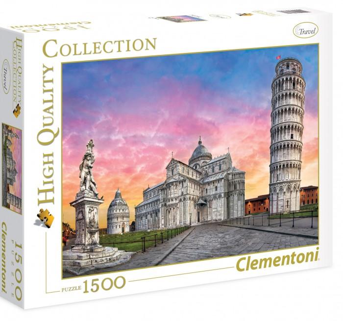 Пазлы Clementoni Пазл High Quality Collection - Пизанская башня (1500 элементов) пазлы iq 3d пазл пизанская башня