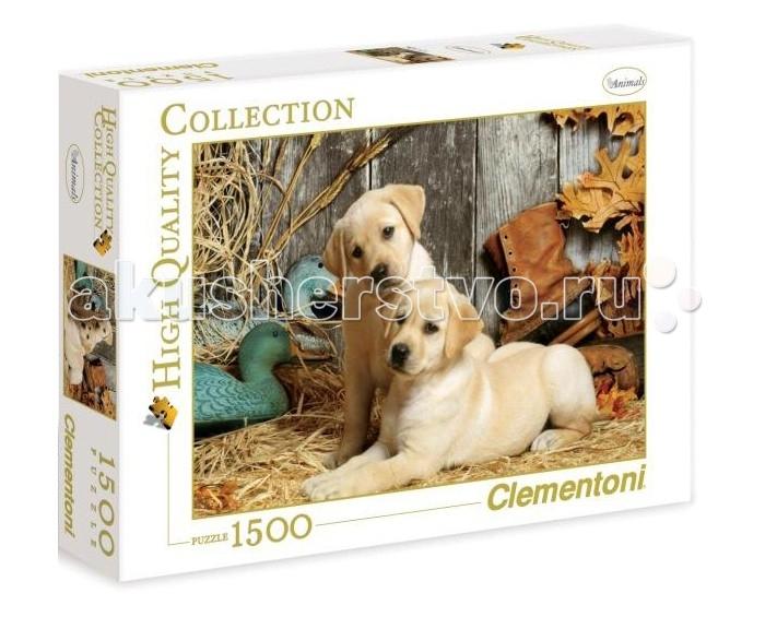 Пазлы Clementoni Пазл High Quality Collection - Щенки лабрадора (1500 элементов)