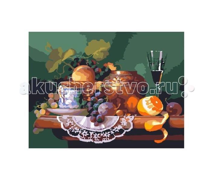 Картины по номерам Molly Картина по номерам Завтрак поэта molly мозаичная картина зеленая долина 40х50 см