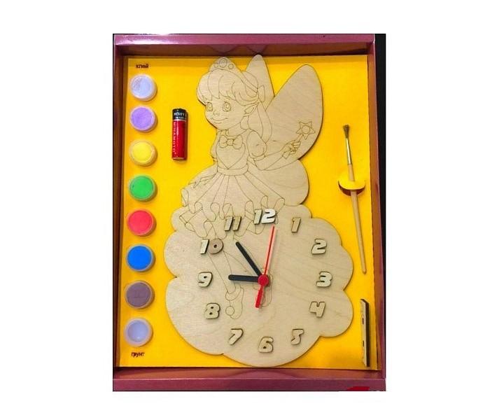 Заготовки под роспись Бэмби Часы с циферблатом под роспись Фея ДНИ 7815 кукла своими руками фея