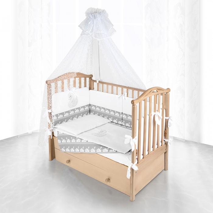 все цены на Комплекты в кроватку Pituso Лебедь (6 предметов) онлайн