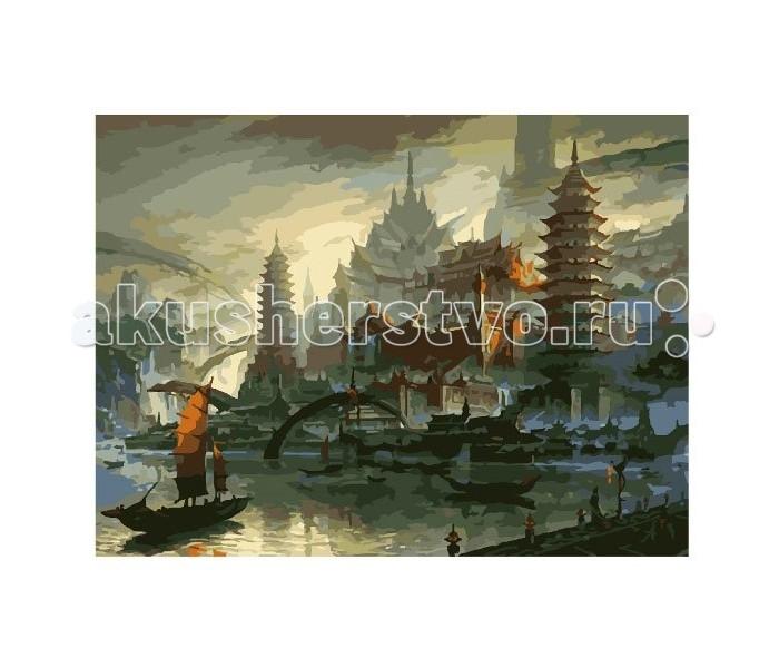 Картины по номерам Molly Картина по номерам Провинция Китая наборы для рисования цветной картины по номерам сова на дереве