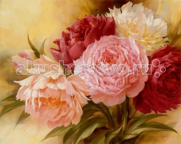 Картины по номерам Molly Картина по номерам Оттенки розового картины в квартиру картина etude 2 102х130 см