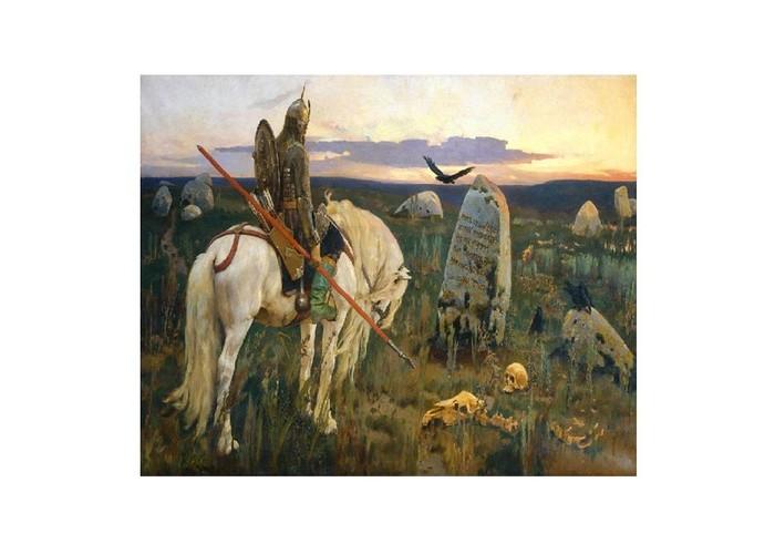 Картины по номерам Molly Картина по номерам В.Васнецов Витязь на распутье molly мозаичная картина зеленая долина 40х50 см