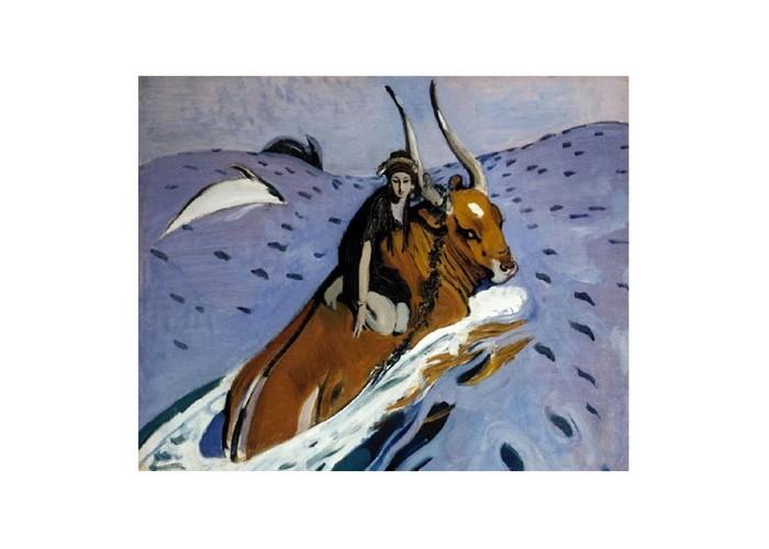 Картины по номерам Molly Картина по номерам В.Серов Похищение Европы molly мозаичная картина зеленая долина 40х50 см
