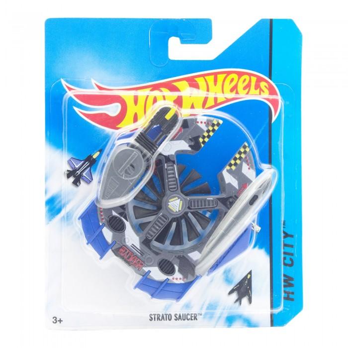 Вертолеты и самолеты Hot Wheels Самолёт Strato Saucer ravensburger самолёты воздушные чемпионы 21096wd