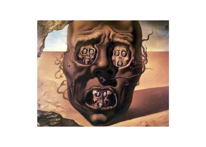 Картины по номерам Molly Картина по номерам Сальвадор Дали Лицо войны molly картина по номерам сальвадор дали галатея сфер