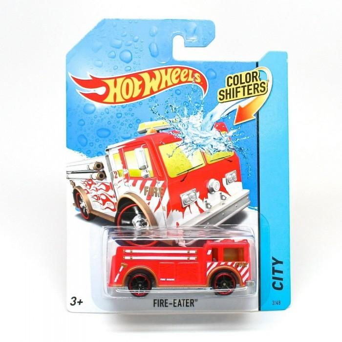 Картинка для Машины Hot Wheels Машинки меняющие цвет Color Shifters Fire-Eater