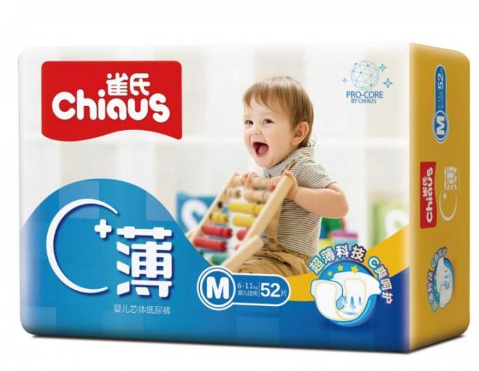 Подгузники Chiaus Pro-core Подгузники M (6-11 кг) 52 шт. подгузники детские chiaus подгузники chiaus золотой хлопок размер м 6 11кг 52 шт