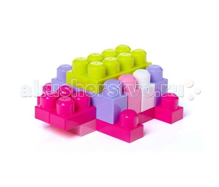 Конструкторы Mega Bloks First Builders Big Building Bag для девочек 60 деталей электрододержатель ewm eh 35мм2 4m 092 000052 00000